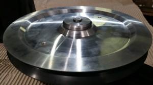 Umlenkrolle aus Aluminium,Keramik beschichtet