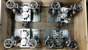 Versandbereit Kalibrierapparate bis Ø 40 mm