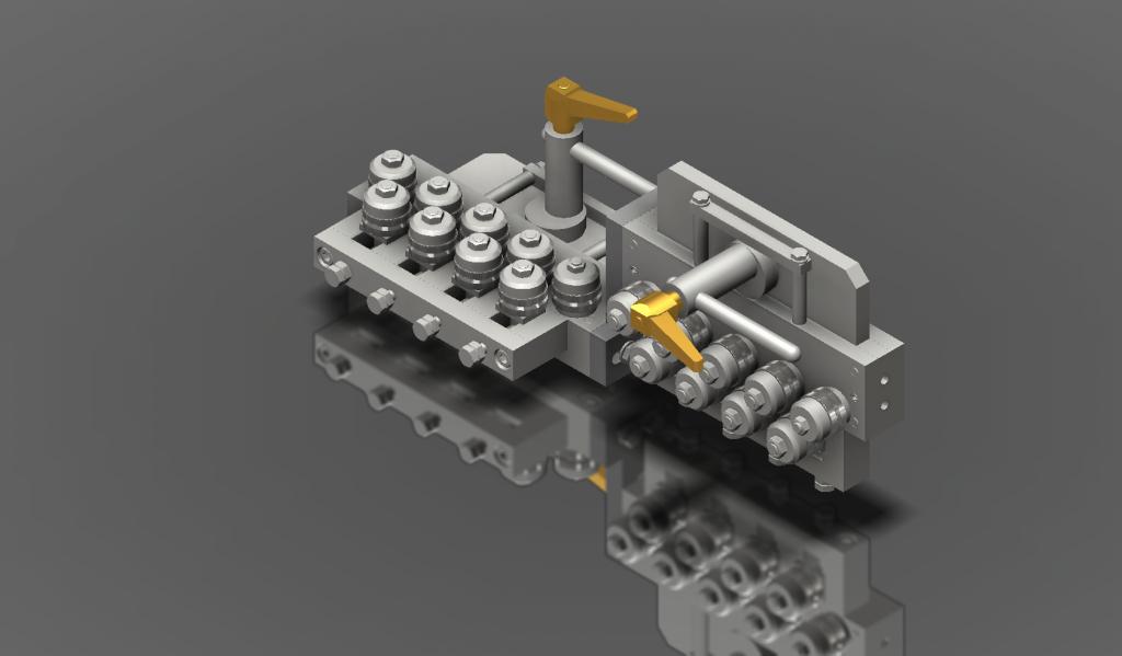 Richtapparat DS/9-32 entstanden aus einer 3D Zeichnung