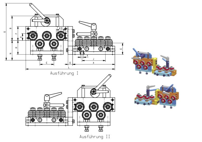 Richtapparate,Typ ES/…-10 Draht Ø 0-0,3 mm › RiTeBo GmbH ...