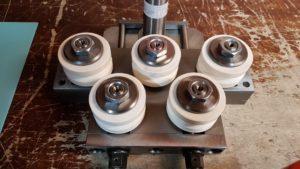 Voll-Keramik Rollen - verhindern Stromfluss- deutlich längere Standzeiten als einfache Richtrollen