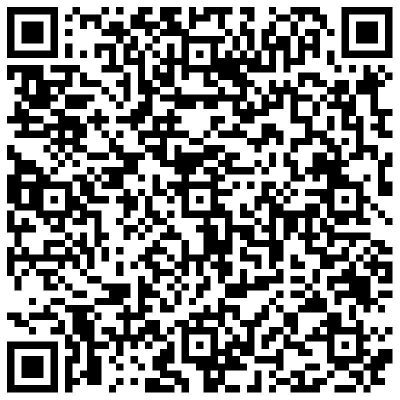 QR Code -Sie können diesen Kontakt Ihrem Adressbuch hinzufügen,indem Sie den Code mit einer Barcode App scannen.