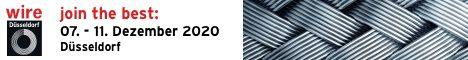 Wire 2020 – Stand EN 06- vom 07.12. bis 11.12.2020